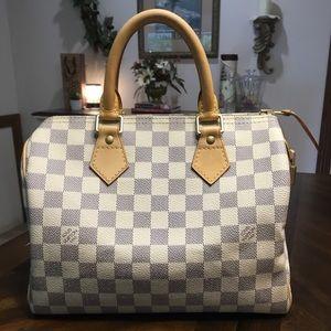 Louis Vuitton Speedy 25 Azur